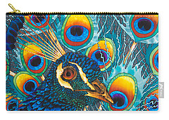 Insane Peacock Carry-all Pouch