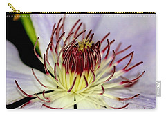 Inside A Clematis Carry-all Pouch
