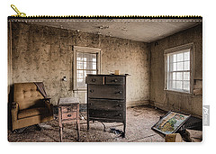 Inside Abandoned House Photos - Old Room - Life Long Gone Carry-all Pouch