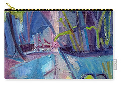 Inside And Outside Abstract Expressionism Carry-all Pouch