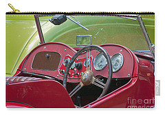 Red Mg-td Convertible  Carry-all Pouch