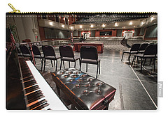 Carry-all Pouch featuring the photograph Inside Theater by Alex Grichenko