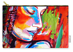 Carry-all Pouch featuring the painting Insight by Helena Wierzbicki