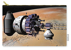 Inspection Over Mars Carry-all Pouch