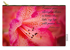 Inspirational Rhododendron Carry-all Pouch