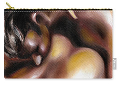 Carry-all Pouch featuring the painting Instinct by Hiroko Sakai