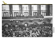 Interior Of Ny Stock Exchange Carry-all Pouch