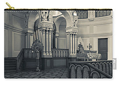 Interior Of The Grand Choral Synagogue Carry-all Pouch