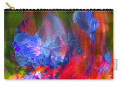 Carry-all Pouch featuring the digital art Interior by Richard Thomas