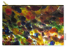 Carry-all Pouch featuring the photograph Interior Roof Decorations Casino Hotel Resorts Las Vegas by Navin Joshi
