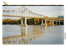 Interstate Bridge In Winona Carry-all Pouch