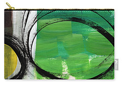 Intertwined- Abstract Painting Carry-all Pouch
