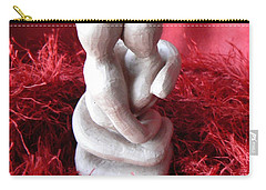 Carry-all Pouch featuring the sculpture Intertwined by Barbara St Jean