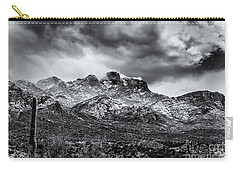 Carry-all Pouch featuring the photograph Into Clouds by Mark Myhaver