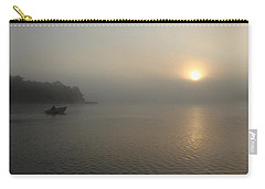 Into The Fog  Carry-all Pouch by Debbie Oppermann