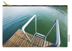 Carry-all Pouch featuring the photograph Into The Water by Chevy Fleet