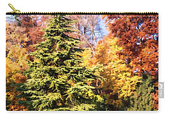 Into The Woods Carry-all Pouch by Muhie Kanawati