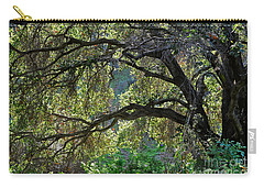 Carry-all Pouch featuring the photograph Into The Woods by Susan Wiedmann