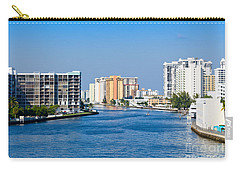 Intracoastal Waterway In Hollywood Florida Carry-all Pouch