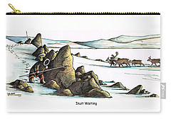 Inuit Waiting Carry-all Pouch