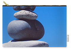 Inukshuk 1 By Jammer Carry-all Pouch by First Star Art