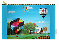 Iowa Balloons Carry-all Pouch