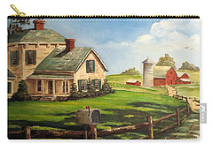 Iowa Farm Carry-all Pouch by Lee Piper