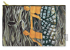Carry-all Pouch featuring the painting I Q Stoped by Fei A