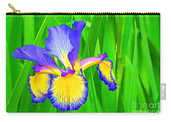 Iris Blossom Carry-all Pouch