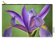 Iris Elegance Carry-all Pouch by Deb Halloran