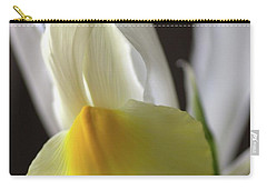 Carry-all Pouch featuring the photograph Iris Flower by Joy Watson