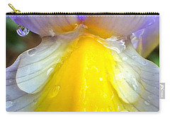 Iris Flower Petal Upclose Carry-all Pouch