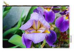 Iris From The Garden Carry-all Pouch