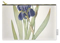 Iris Germanica Bearded Iris Carry-all Pouch by Pierre Joseph Redoute