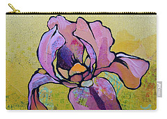 Iris I Carry-all Pouch by Shadia Derbyshire