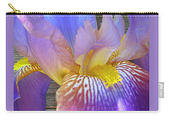 Iris Lullaby - Photography - Floral Carry-all Pouch