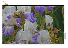 Iris Patch At The Arboretum Carry-all Pouch