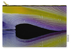 Iris Petal Reflected Carry-all Pouch