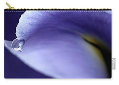 Iris Rain Carry-all Pouch by Krissy Katsimbras