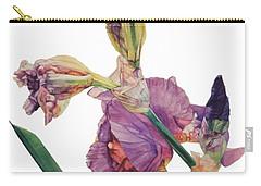 Iris Rhapsody Carry-all Pouch by Greta Corens