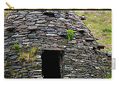 Carry-all Pouch featuring the photograph Irish Beehive House by Patricia Griffin Brett