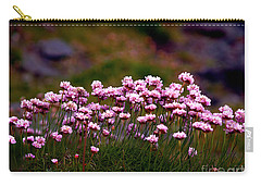 Irish Sea Pinks Carry-all Pouch by Patricia Griffin Brett