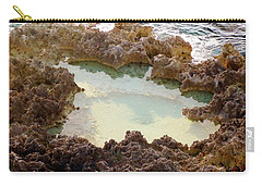 Carry-all Pouch featuring the photograph Ironshore Tidewater Pool by Amar Sheow