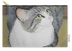 Carry-all Pouch featuring the painting Is Dinner Ready by Norm Starks