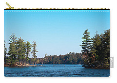 Island On The Fulton Chain Of Lakes Carry-all Pouch by David Patterson