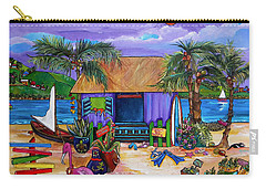 Island Time Carry-all Pouch by Patti Schermerhorn