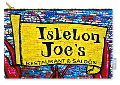 Isleton  Joe's Logo Carry-all Pouch