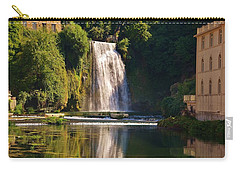Isola Del Liri Falls Carry-all Pouch by Dany Lison