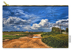 Carry-all Pouch featuring the photograph Israel End Of  Spring Season  by Ron Shoshani