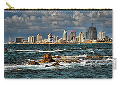 Carry-all Pouch featuring the photograph Israel Full Power by Ron Shoshani